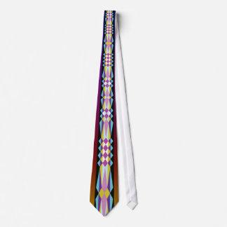 ネイティブアメリカンのリボンのデザイン カスタムネクタイ