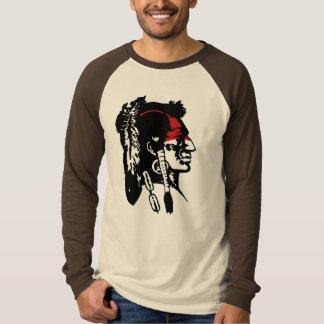 ネイティブアメリカンのロゴ Tシャツ