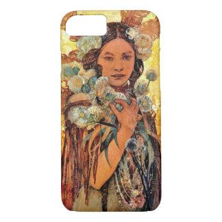 ネイティブアメリカンの女性1905年 iPhone 8/7ケース