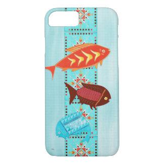 ネイティブアメリカンの川のフォークすべてのケース iPhone 8/7ケース