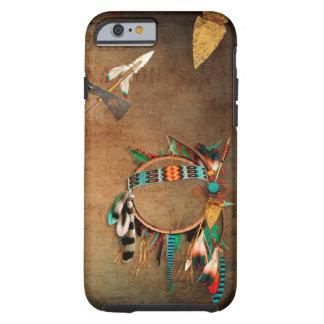 ネイティブアメリカンの矢じりのインディアン iPhone 6 タフケース