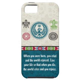 ネイティブアメリカンの記号および知恵-フェニックス iPhone SE/5/5s ケース