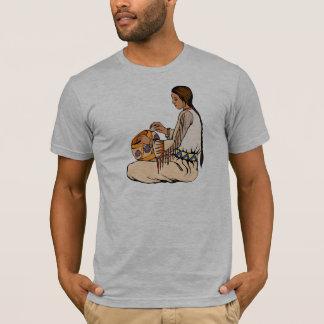 ネイティブアメリカンは陶器を作ります Tシャツ