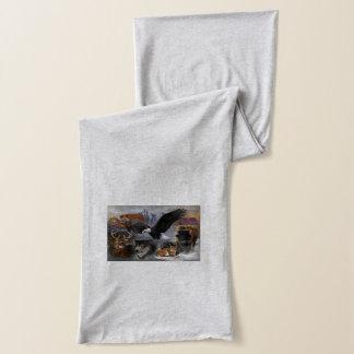 ネイティブアメリカン動物精神のプリントのスカーフ スカーフ