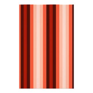 ネイティブアメリカン色のストライプ- 2 便箋