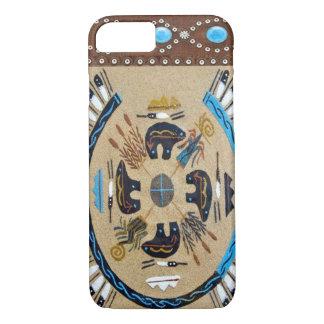 """""""ネイティブアメリカンSandpainting""""の西部のiPhone 7カリフォルニア iPhone 8/7ケース"""