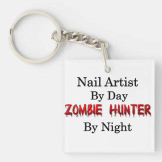 ネイルアーティストまたはゾンビのハンター キーホルダー