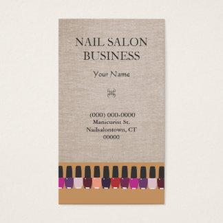 ネイルサロンの名刺 名刺