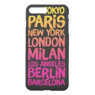 ネオンお気に入りのな都市 iPhone 8 PLUS/7 PLUS ケース