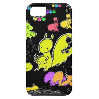 ネオンとドングリとリス iPhone SE/5/5s ケース