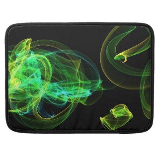 ネオンの緑 MacBook PROスリーブ