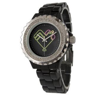 ネオンオンドリ 腕時計