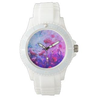 ネオンバラの腕時計 腕時計