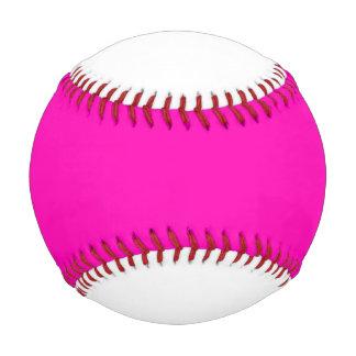 ネオンピンクの無地はそれをカスタマイズ 野球ボール