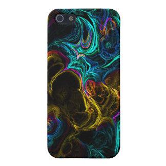 ネオンフラクタル1 iPhone 5 COVER