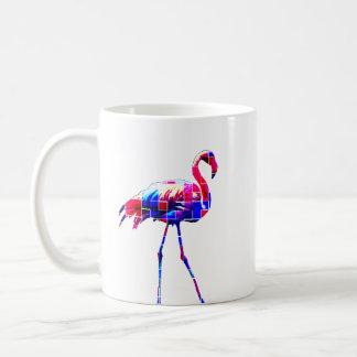 ネオンフラミンゴのマグ コーヒーマグカップ