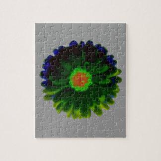 ネオンマリーゴールドのパズル ジグソーパズル