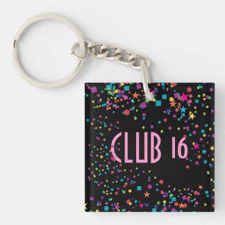 ネオンライトの菓子16クラブパーティの記念品Keychain キーホルダー