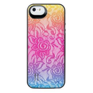 ネオンレース iPhone SE/5/5sバッテリーケース