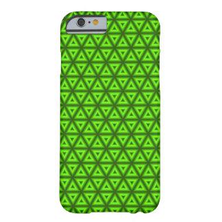ネオン三角形の電話箱(緑) BARELY THERE iPhone 6 ケース