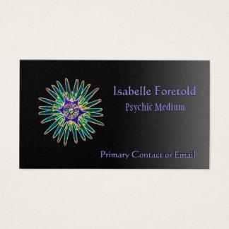 ネオン星の花霊魂サービスカード 名刺