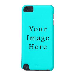 ネオン水の青く明るいターコイズ色の傾向のブランク iPod TOUCH 5G ケース