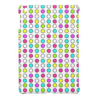 ネオン水玉模様のiPad Miniケース iPad Miniケース