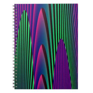 ネオン海のノート ノートブック