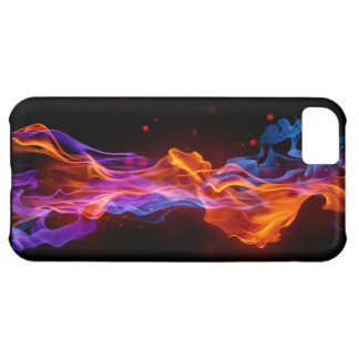 ネオン煙の箱 iPhone5Cケース
