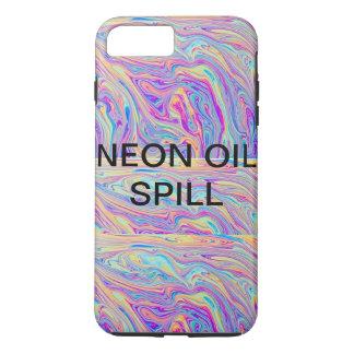 ネオン石油流出の電話箱 iPhone 8 PLUS/7 PLUSケース