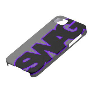 ネオン紫色のスワッグ iPhone SE/5/5s ケース