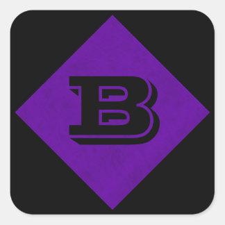 ネオン紫色のビロードの名前入りな家のカジノ スクエアシール