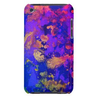 ネオン紫色の霞 Case-Mate iPod TOUCH ケース