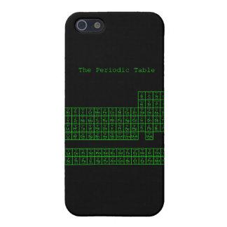 ネオン緑の周期表 iPhone 5 ケース