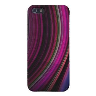 ネオン色のカーブ iPhone 5 CASE
