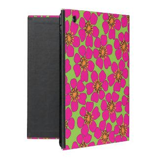 ネオン花のIpadの空気箱 iPad ケース