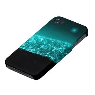 ネオン都市ライト iPhone 4 CASE