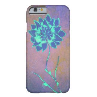 ネオン開花の花の電話箱 BARELY THERE iPhone 6 ケース