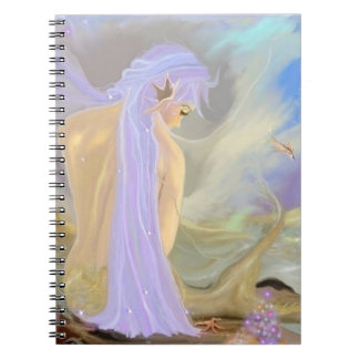 ネオン髪の人魚 ノートブック