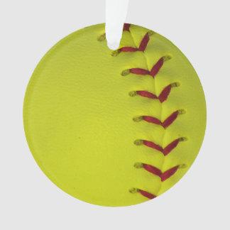 ネオン黄色いソフトボール