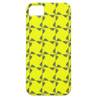 ネオン黄色いヘビパターンデザイン iPhone SE/5/5s ケース