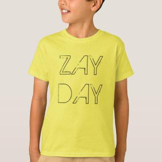 ネオン黄色ZAYDAYファンの商品 Tシャツ