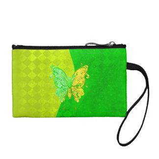 ネオン2は黄色および緑の蝶にある調子を与えます コインパース