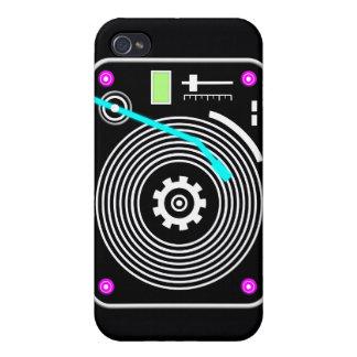 ネオンDJのターンテーブル iPhone 4/4S ケース