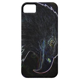 ネオンiPhone 5の場合の白頭鷲 iPhone SE/5/5s ケース