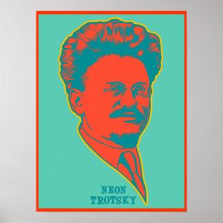 ネオンTrotsky ポスター