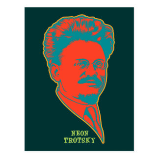 ネオンTrotsky ポストカード