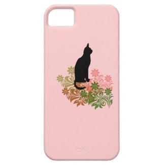 ネコと花 iPhone 5 COVER