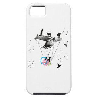 ネコと飛行機 iPhone 5 COVER