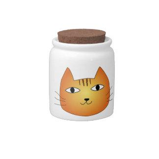 ネコの瓶 キャンディージャー